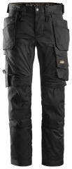 Snickers Allround Stretch Work Trousers - Black