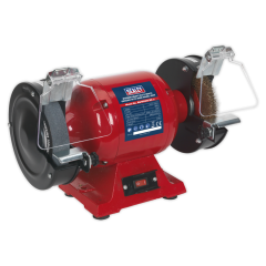 Sealey 150mm Heavy Duty Bench Grinder with Wire Wheel