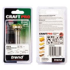 Trend CRAFTPRO Weatherseal groover 3mm x 7mm