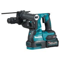 Makita HR004GD202 XGT 40v Brushless SDS With DX14 Dust Extraction System & 2x2.5ah