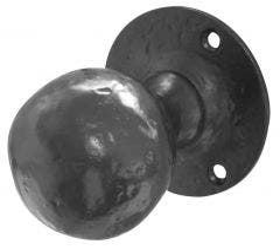 Frelan JAB5 Black Antique Ball Shape Mortice Knob