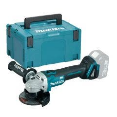 Makita 18v Brushless 115mm Angle grinder - Body Only with Makpac Case