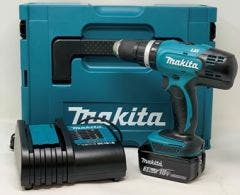 Makita DHP453 Combi Drill, 3ah Battery, Charger & Case