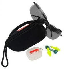 Makita Tinted Safety Glasses with Case