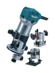 """Makita 1/4"""" Router/Trimmer set with 3 bases"""