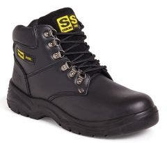 Sterling SS608SM Steel Black Safety Boot