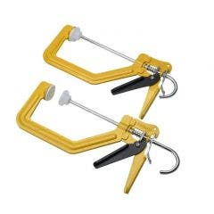 """Roughneck 38-102 6"""" Turboclamp Twin Pack XMS19CLAMP2"""
